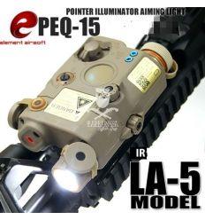 LA5 Anpeq 15 Appearance Version Red Laser - Desert