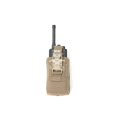 Warrior Adjustable Radio Pouch Coyote Tan