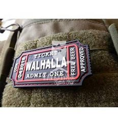 Patch Walhalla Ticket Rubber