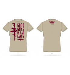 Good Guys in Bad Lands - T-shirt desert