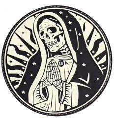 Patch Santa Muerte - Glow