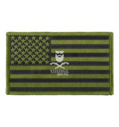 Patch US Flag Big - Green