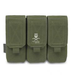 Warrior Triple M4 5.56mm OD