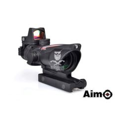 ACOG 4x32C Combo Combat Scope Fiber - Black