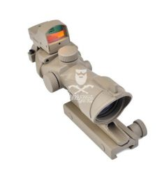 ACOG 4x32 Combo Combat Scope - Desert