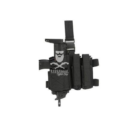 Fondina Cosciale per MP7 - Black