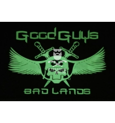 Good Guys in Bad Lands - Patch Color Fluo
